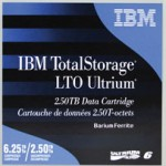 IBM 00V7590 DATA CARTRIDGE LTO 6 - 2.5 TB - 400MB S