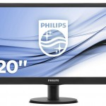 PHILIPS 203V5LSB26/10 19.5 LED 1600X900 16 9 200CD M2 5MS VGA