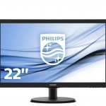 PHILIPS 223V5LSB/00 21.5 LED 16 9 1920X1080 250CD M2 5MS DVI VGA VESA
