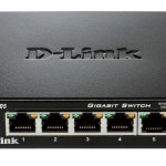 D-LINK DGS-105 SWITCH 5 PORTE GIGA 10 100 1000 M