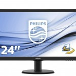 PHILIPS 243V5LHAB/00 23.6 LED 1920X1080 16 9 250CD M2 HDMI DVI VGA MMD