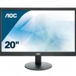 AOC E2070SWN 19.5 LED 16 9 1600X900 VESA BLACK