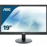 AOC E970SWN 18.5 LED 16 9 1366X768 VESA BLACK