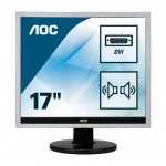 AOC E719SDA 17 LED 5 4 1280X1024 MULTIMEDIALE COLORE SILVER