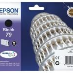 EPSON C13T79114010 CARTUCCIA 79 TORRE DI PISA STANDARD L NERO