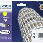 EPSON C13T79144010 CARTUCCIA 79 TORRE DI PISA STANDARD L GIALLO