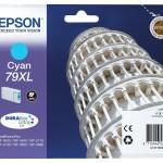 EPSON C13T79024010 CARTUCCIA 79XL TORRE DI PISA ELEVATA XL CIANO