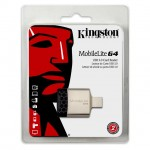 KINGSTON FCR-MLG4 LETTORE MEMORY CARD -  MOBILELITE G4