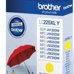 BROTHER LC225XLY CARTUCCIA GIALLO DA 1.200 PAGINE