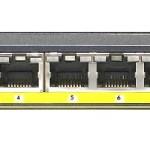 NETGEAR GS110TP-200EUS SMART SWITCH 8 POE 10 100 1000 +2 SLOT MODULI SFP