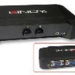 LINDY LINDY32529 SWITCH VGA   AUDIO 2 1 MANUALE