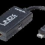ADATTATORE MHL A HDMI  0 1M  USB MICROB   HDMI F