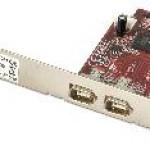 LINDY LINDY51180 SCHEDA FIREWIRE PCI-E. 2 PORTE