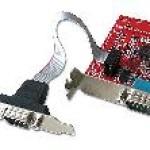 LINDY LINDY51245 SCHEDA PCIE 2S LOW PROFILE