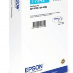 EPSON C13T754240 CARTUCCIA DURABRITE  PRO T7542  690 ML CIANO XXL