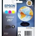 EPSON C13T26704010 CARTUCCE SERIE 267 GLOBE 67 ML 3 COLORI
