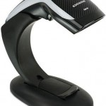 DATALOGIC HD3130-BKK1B HERON HD3130, 1D SCANNER BLACK + STAND + USB CABLE