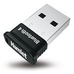 HAMLET XBTUS100BKK BABY BLUETOOTH USB CLASSE 1 50MT NERO