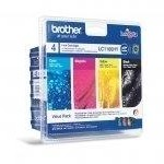 BROTHER LC1100HYVALBP KIT 4 CARTUCCE COLORE IMBALLO 5 PZ BLISTER