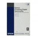 EPSON C13S042003 PROOFING PAPER WHITE SEMIMATTE ROTOLI