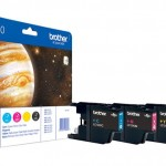 BROTHER LC1240VALBP KIT 4 CARTUCCE COLORE BLISTER