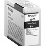 EPSON C13T850100 CARTUCCIA ULTRACHROME  HD T8501 ORCA  800 ML NERO