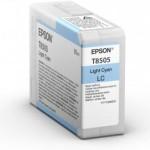 EPSON C13T850500 CARTUCCIA HD T8505  800 ML CIANO CHIARO