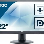 AOC E2260PQ/BK 22   LED  16 10  1680X1050  DVI DP MULTIM