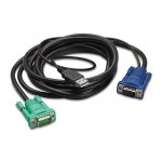 APC INTEGRATED LCD KVM USB CABLE 3M