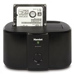 HAMLET HXDD2535 USB 3.0 SINLGE BAY DOCK STATION 2.5  3.5  SATA HDD
