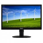 23 LED IPS 1920X1080 DP USB REG H COLORE NERO