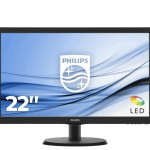 PHILIPS 223V5LHSB2/00 21.5 LED 1920X1080 16 9 200CD M2 5MS HDMI VGA