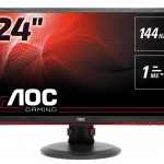 AOC G2460PF 24 LED 16 9 1920X1080 DVI HDMI MM VESA BLACK