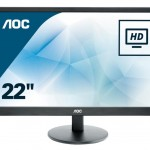 AOC E2270SWDN 21.5 LED 16 9 1920X1080 DVI-D VESA BLACK VGA