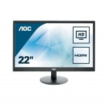 AOC E2270SWHN 21.5 LED 16 9 1920X1080 HDMI VESA BLACK