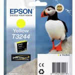 EPSON C13T32444010 CARTUCCIA HI-GLOSS2 T3244 PUFFIN  140 ML GIALLO