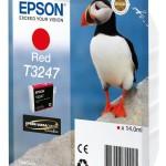 EPSON C13T32474010 CARTUCCIA HI-GLOSS2 T3247 PUFFIN  140 ML ROSSO