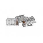 VULTECH SN21401 CONNETTORI TRASPARENTI RJ45 UTP 50 PZ. 8P8C