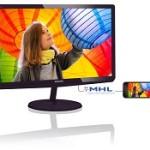 PHILIPS 247E6LDAD/00 23.6 LED 1920X1080 16 9 250CD 5MS DVI VGA HDMI MM
