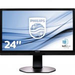 PHILIPS 241P6EPJEB/00 23.8 LCD IPS-ADS 1920X1080 5MS DP VGA DVI-D MM