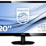 PHILIPS 200V4LAB2/00 19.5 LED 1600X900 16 9 200CD M2 5MS DVI VGA MMD