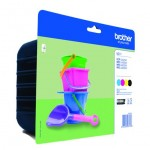BROTHER LC221VALBP KIT 4 CARTUCCE COLORE BLISTER