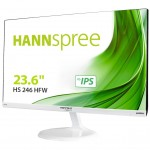 HANNSPREE HS246HFW 23.6  1920X1080 250CDM2 VGA HDMI PC AUDIO WHITE