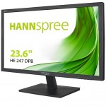 HANNSPREE HE247DPB MONITOR 24  16 9 LED MULTIMEDIALE DVI NERO FULL