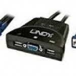 LINDY LINDY32816 SWITCH KVM CLASSIC USB   VGA 2 PORTE