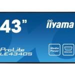 IIYAMA LE4340S-B1 43  1920X1080  VGA DVI-D USB 400 X 400MM