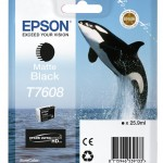 EPSON C13T76084010 INCHIOSTRO ULTRACHROME® HD 1X25 9 ML NERO MATTE