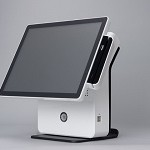S.N. SYSTEMS K9000-POS-B POS TOUCH SCREEN ALL IN ONE 15  BIANCO W/O SO