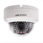 HIKVISION HI DS-2CD2110F-IW(4MM) IP CAMERA MINI DOME IP66 POE 1MP F1.2-4MM IR30M