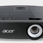 ACER MR.JMH11.001 P6600 20.000:1 5000 ANSI WUXGA DLP 3D VGA HDMI